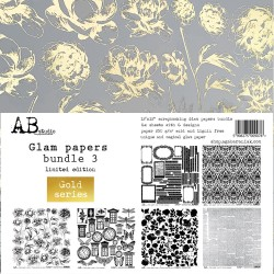 Glam papers bundle 3 - Gold...