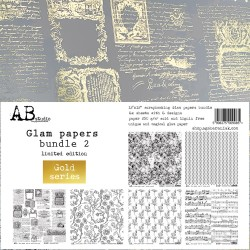 Glam papers bundle 2 - Gold...