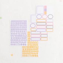 Set etiquetas y alfabetos...