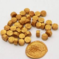 Pastillas de cera Dorado