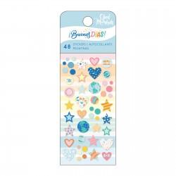 Enamel Dot Stickers