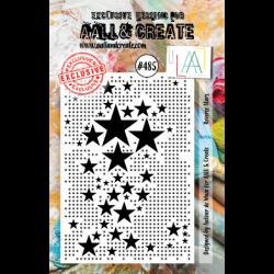 Sello N.485 - Reverse Stars