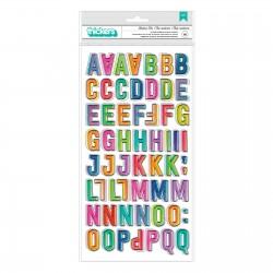 Thickers Alfabeto - Color...