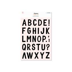Set de Sellos Alfabeto Mix L