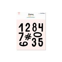 Set de Sellos Números Mix L