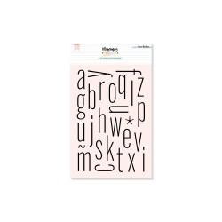 Set de Sellos Alfabeto Thin...