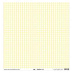 Vellum - Vichy Amarillo Pastel