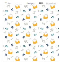 Vellum 12x12 Letters - PICNIC