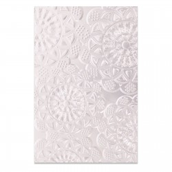 3-D Textured Impressions Doily