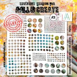 Stencil AALL & Create N.21...
