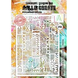 Stencil AALL & Create N.48...