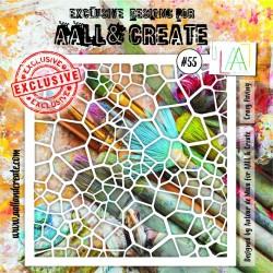 Stencil AALL & Create N.55...