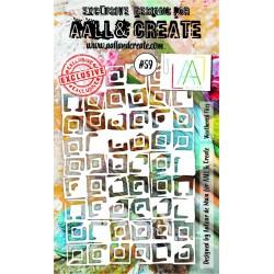 Stencil AALL & Create N.59...