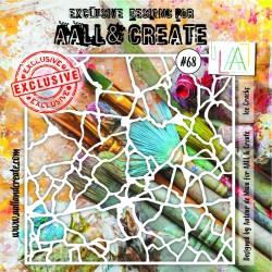 Stencil AALL & Create N.68...