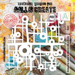 Stencil AALL & Create N.100...