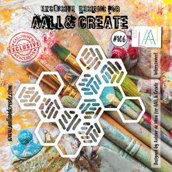 Stencil AALL & Create N.106...