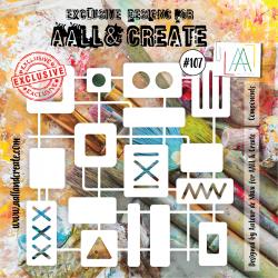 Stencil AALL & Create N.107...