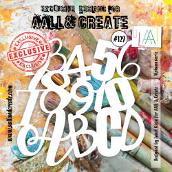 Stencil Aall and Create No.129