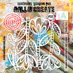 Stencil Aall and Create No.130