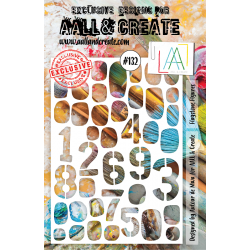 Stencil Aall and Create No.132