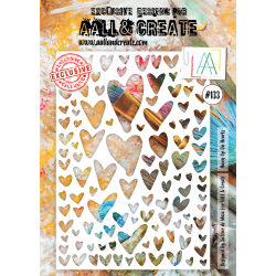 Stencil Aall and Create No.133
