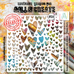 Stencil Aall and Create No.134