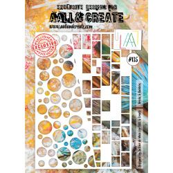 Stencil Aall and Create No.135