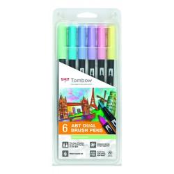 SET 6 DUAL BRUSH - Colores...