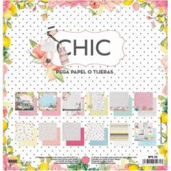 """Colección """"CHIC"""" - 12 Hojas..."""