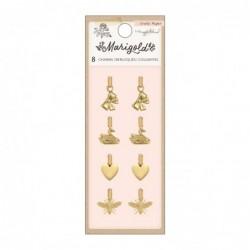 Charms Marigold (8 Piezas)