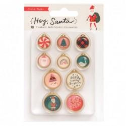 Charms Hey, Santa (10 Piezas)