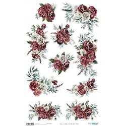 PAPEL ARROZ 54X33 RED AND...