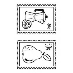 Sello acrílico Postales -...