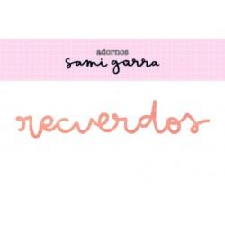 Madera Recuerdos - 10x2 cm