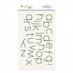 Sello Alfabeto Muérdago