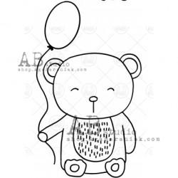 Sello Caucho ID-996 bear3
