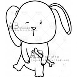 Sello Caucho ID-997 cute dog1