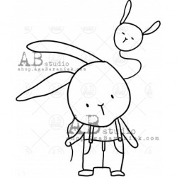 Sello Caucho ID-1002 cute...