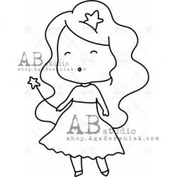 Sello Caucho ID-1003 fairy1