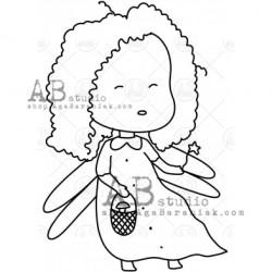 Sello Caucho ID-1004 fairy2