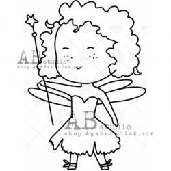 Sello Caucho ID-1006 fairy4