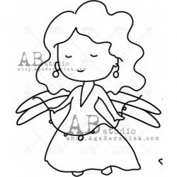 Sello Caucho ID-1007 fairy5