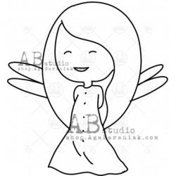 Sello Caucho ID-1010 fairy8