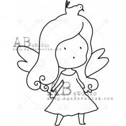 Sello Caucho ID-1012 fairy10